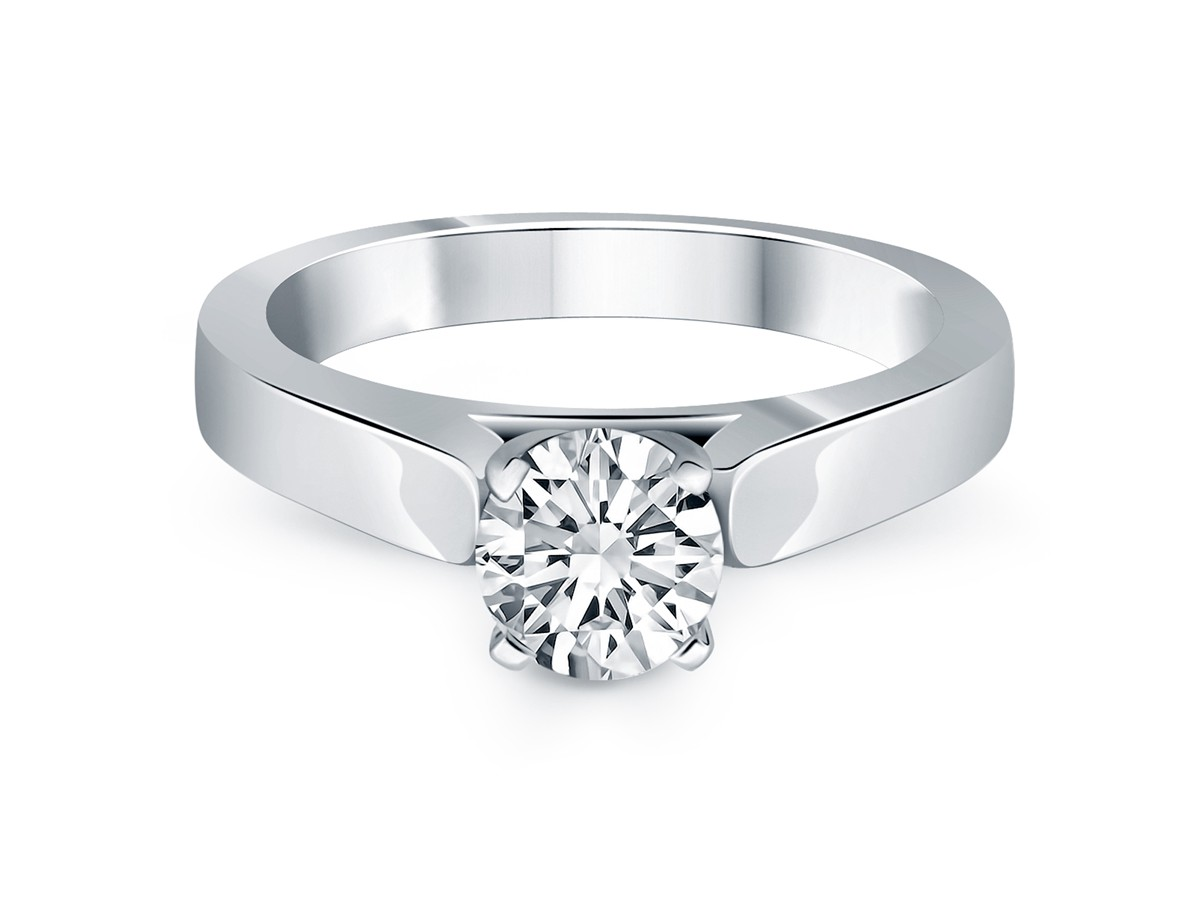 standard carat size for engagement ring