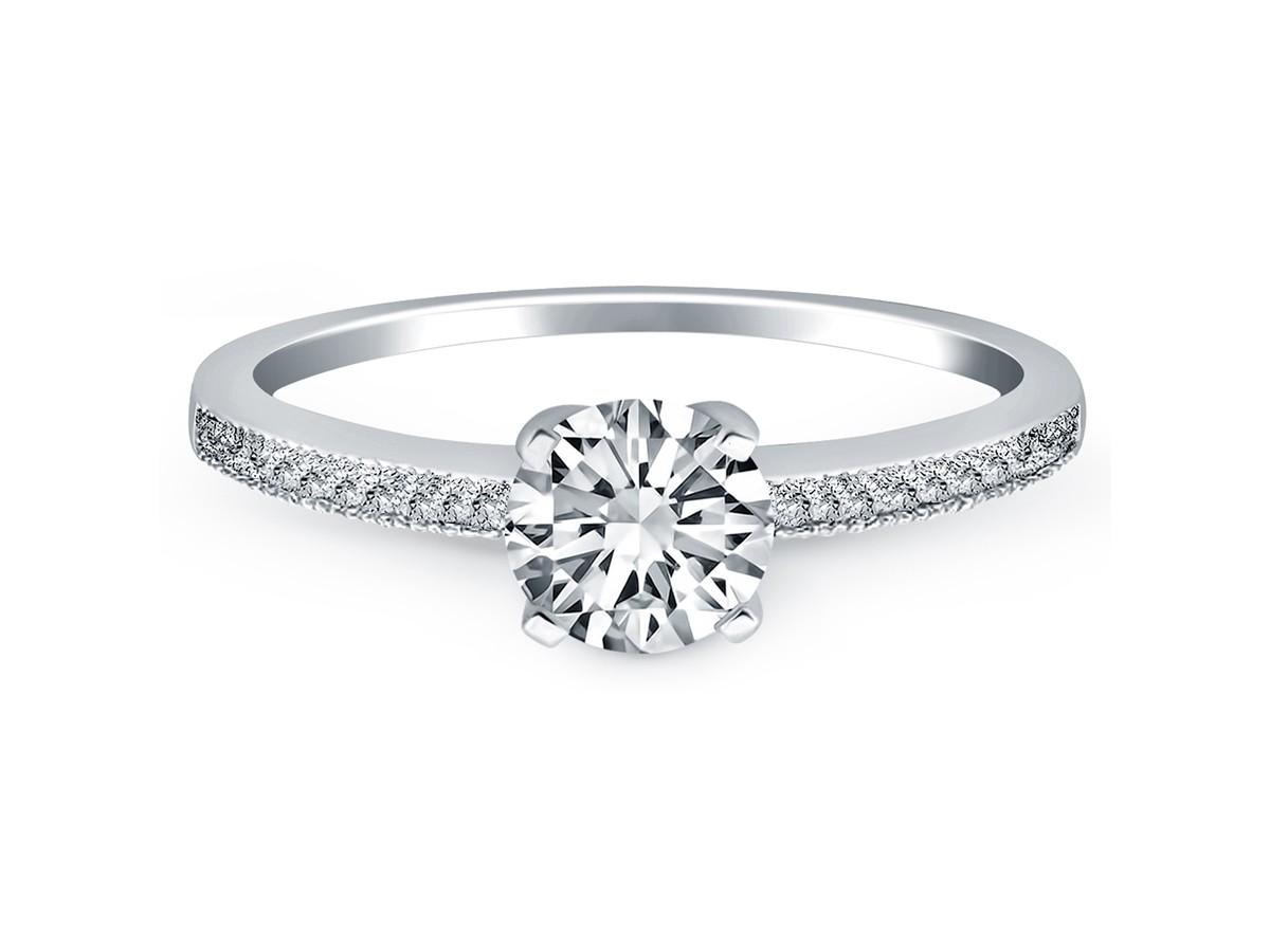 Unique Simple Solitaire Engagement Rings Solitaire Engagement Ring
