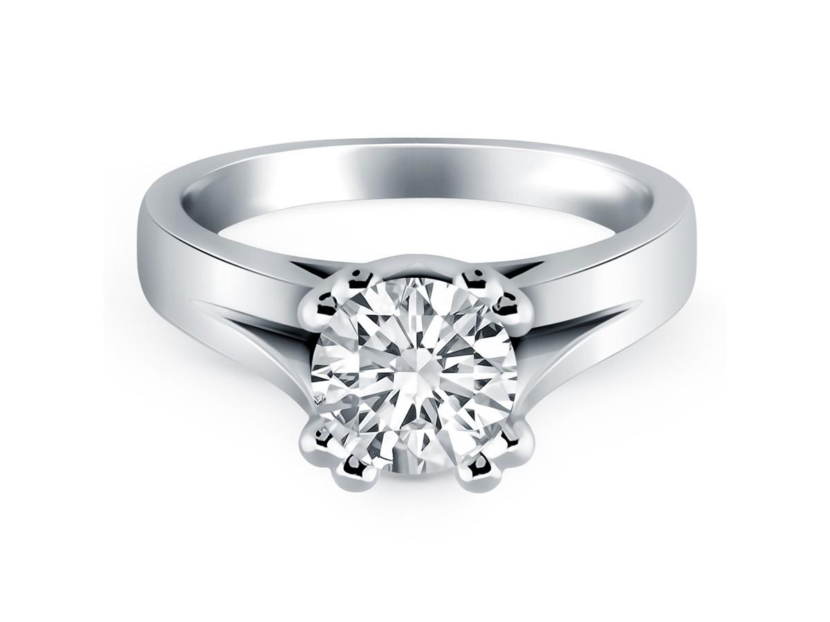 Carat  Prong Diamond Ring