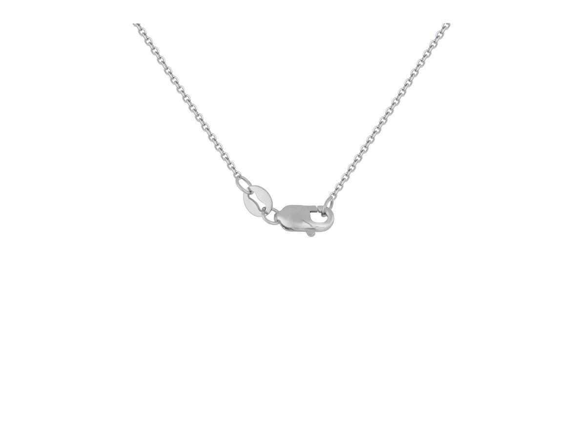 Double infinity diamond pendant in 14k white gold richard cannon double infinity diamond pendant in 14k white gold aloadofball Image collections
