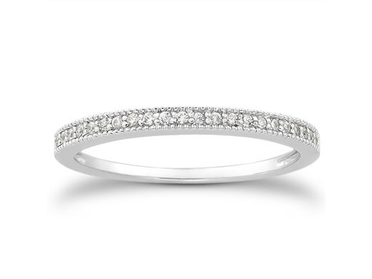micro thin diamond for gold women pave wedding ro p band bands