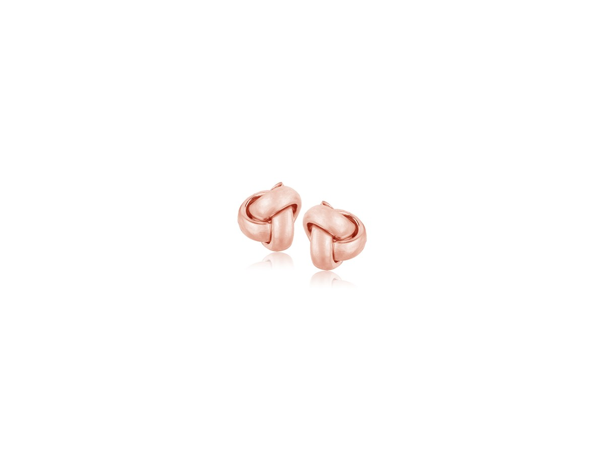 14k Rose Gold Stud Earrings Stud Earrings in 14k Rose